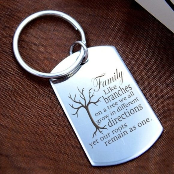anavia Accessories - Family Tree Key Chain Ring